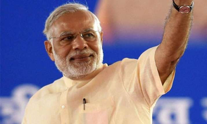pm modi greets swayamsevaks on rss s 90th foundation day