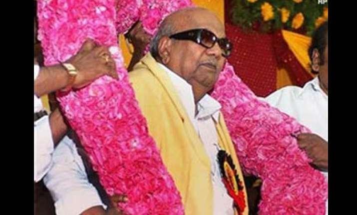 i m not retiring soon karunanidhi tells sons