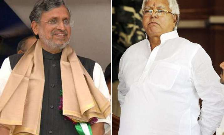 bihar polls it s a battle between beef eaters and those who