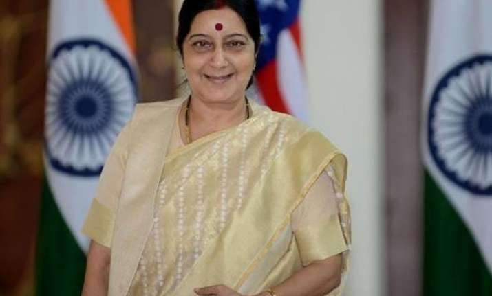 sushma swaraj to visit south africa tanzania on march 28 31
