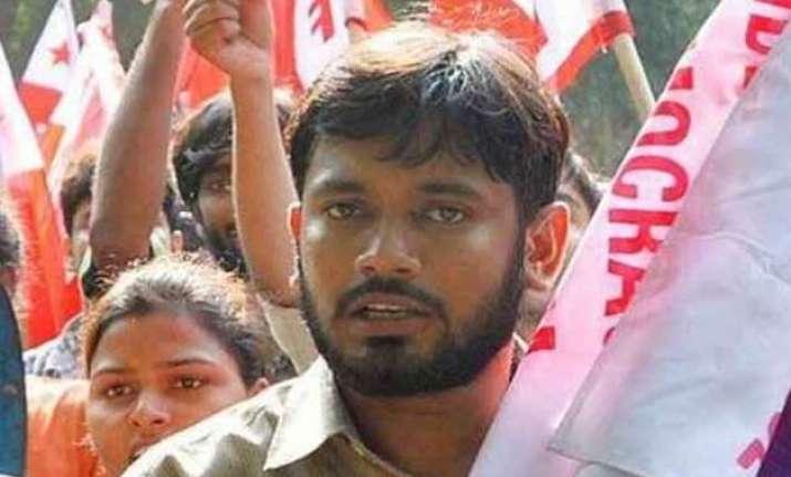 bjp welcomes jnu student s union president s arrest