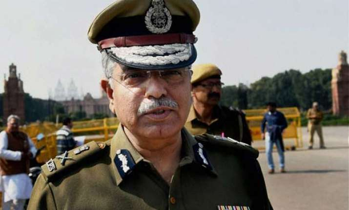 aap dubs delhi police chief a senior bjp leader