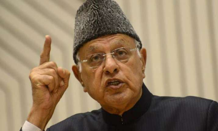 farooq abdullah asks centre to engage pak to stop ceasefire