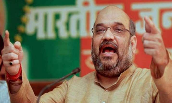 after bihar poll win amit shah says janata parivar a damp