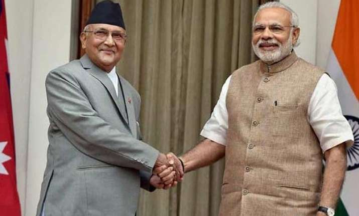 nepal pm oli s india visit forgetting recriminations for now