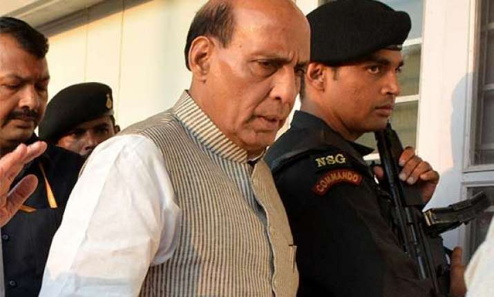 rajnath singh speaks to khattar wants an early end to the