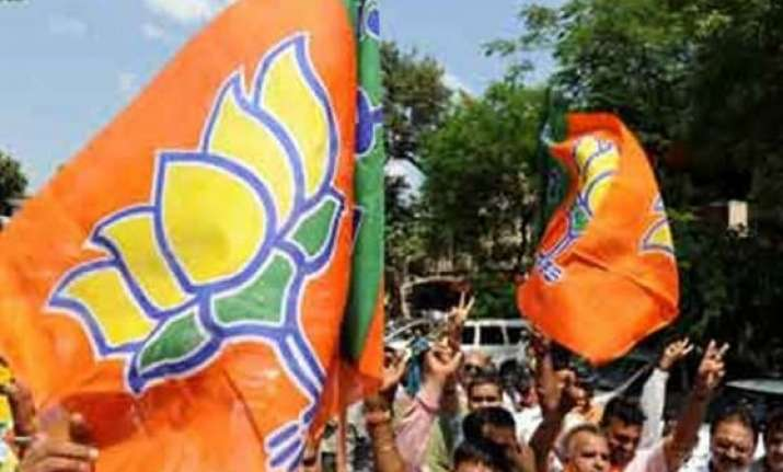 haryana polls bjp launches mission 60 plus campaign