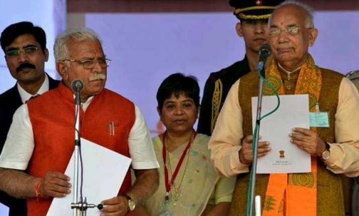 haryana ministers vow to probe all land scams of previous