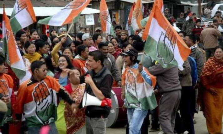 congress wins by election in manipur