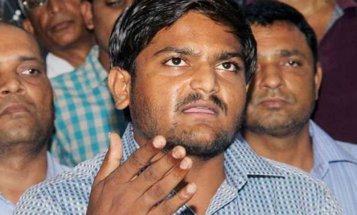 hardik patel asks amit shah not to interfere in quota stir