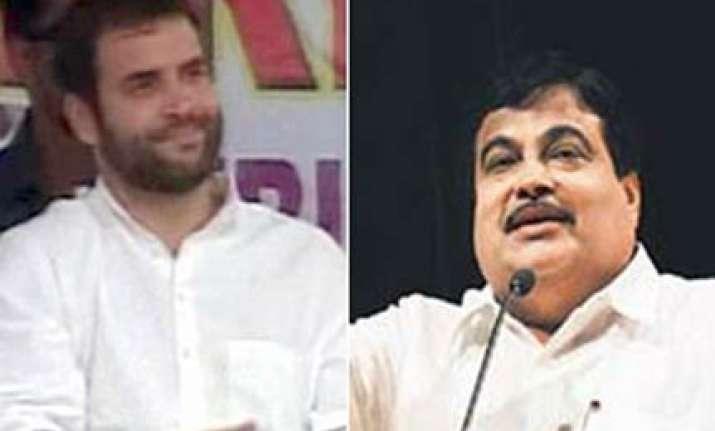 rahul gandhi charisma is over rated says gadkari