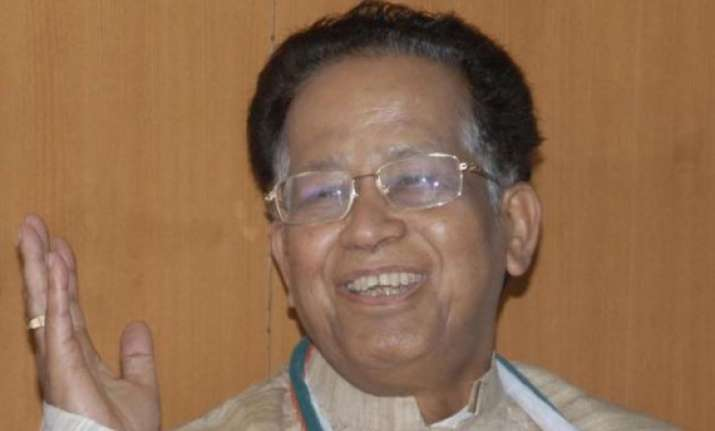 congress to get majority in assembly polls tarun gogoi