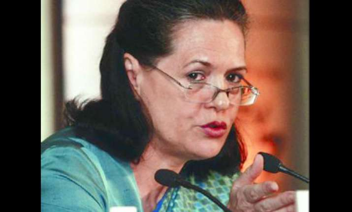 sonia asks rebels to set aside personal ambitions