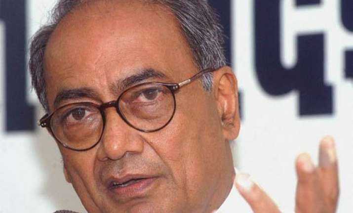 digvijay attacks pm modi for taking credit for one rank one