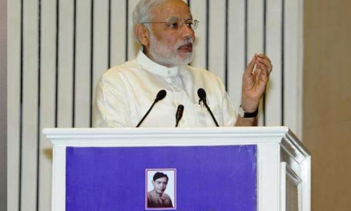 pm modi asks people of bihar to shed casteism says