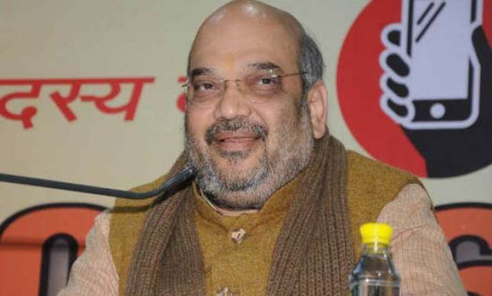amit shah holds brainstorming session with first wives club