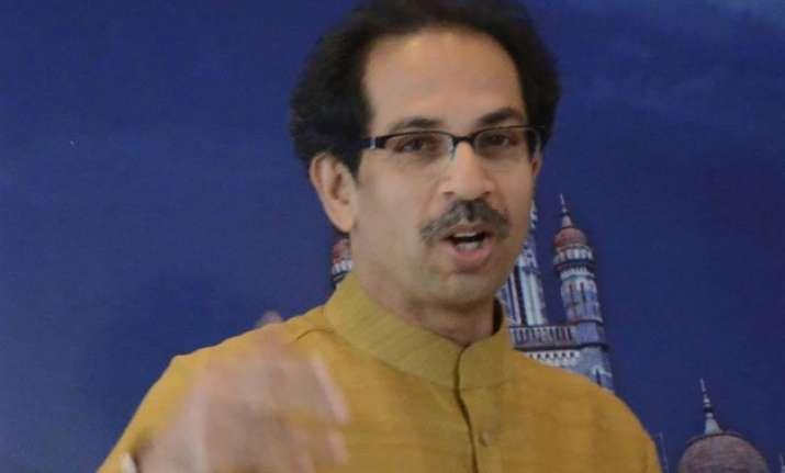 no rift with bjp but shiv sena will oppose land bill uddhav