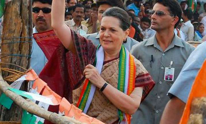 sonia gandhi to campaign in haryana on oct 4