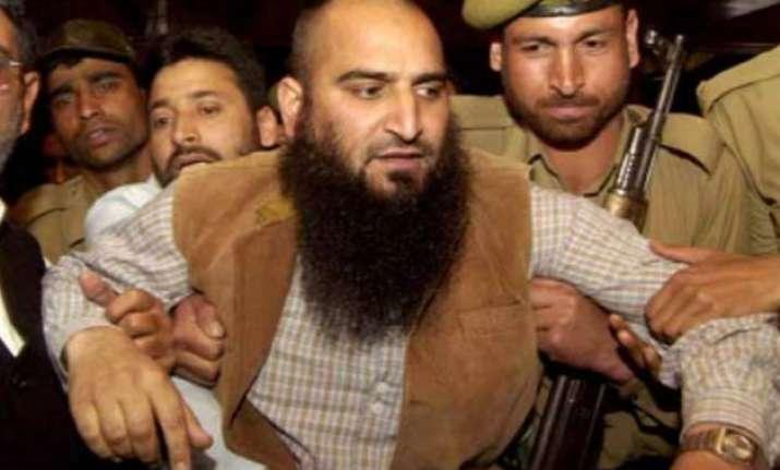 kashmiri separatist leader masarat alam sent to 7 day