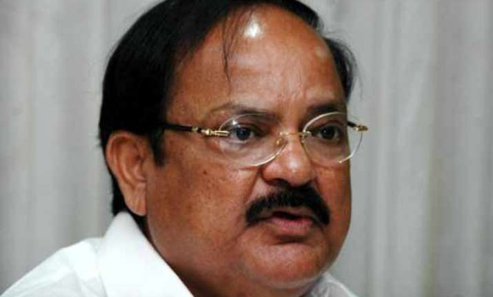 venkaiah naidu sets up task forces for smart cities
