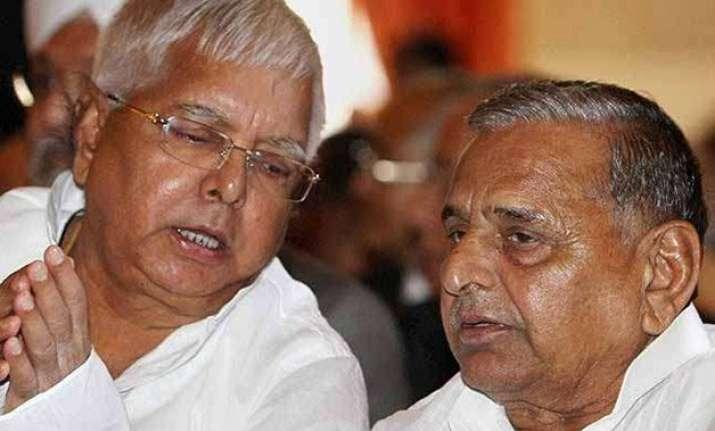 samajwadi party to contest five seats in bihar lalu prasad