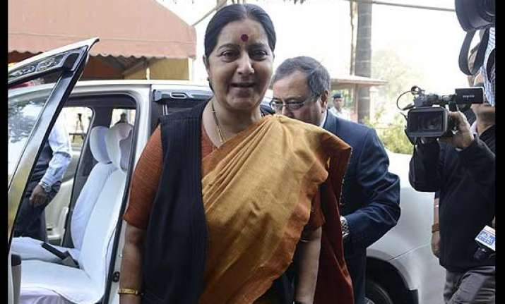 sushma swaraj most followed foreign minister on twitter