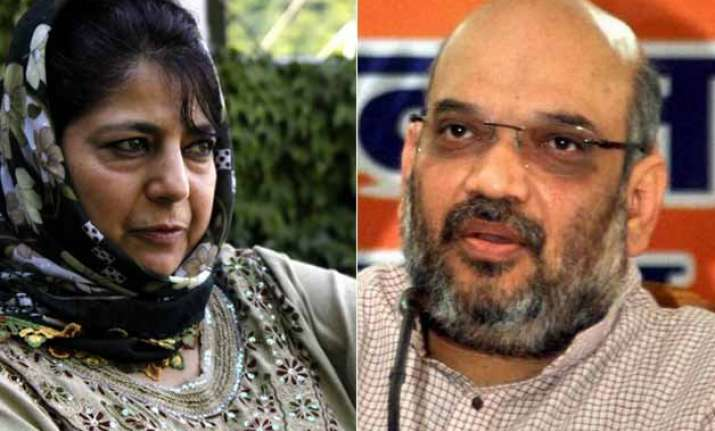 j k government formation decks cleared for bjp pdp alliance