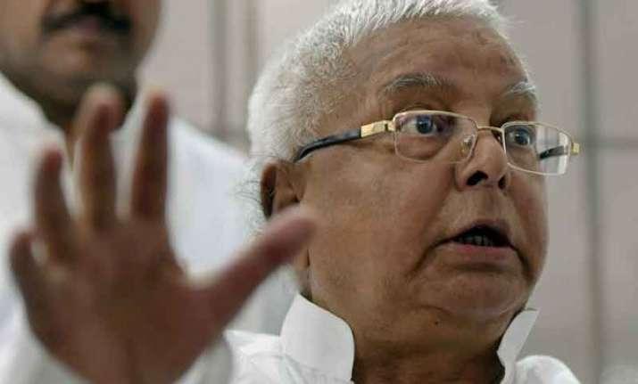 bihar polls lalu attacks amit shah calls him narbhakshi