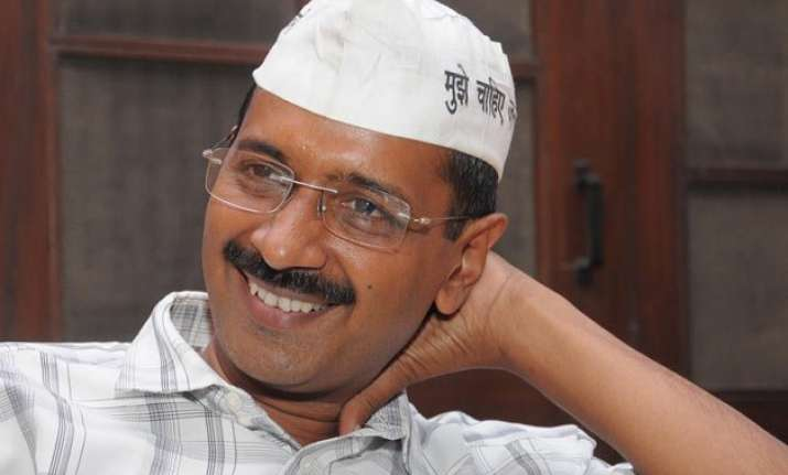 arvind kejriwal moves into his new house