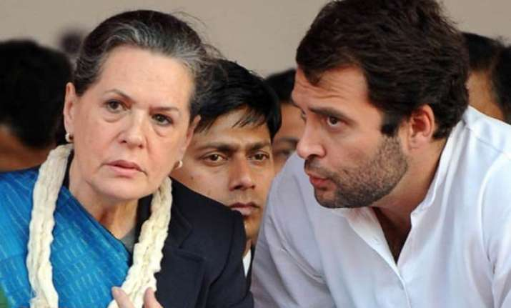disruptions in parliament govt blames sonia rahul