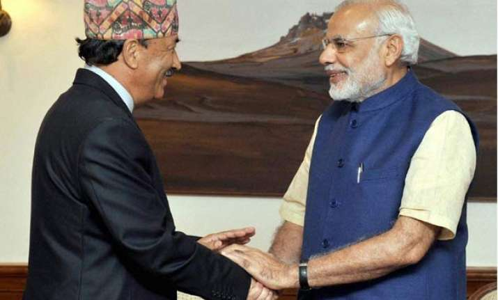 india wants to see nepal united inclusive stable pm