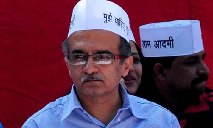 prashant bhushan questions credibility of aap disciplinary
