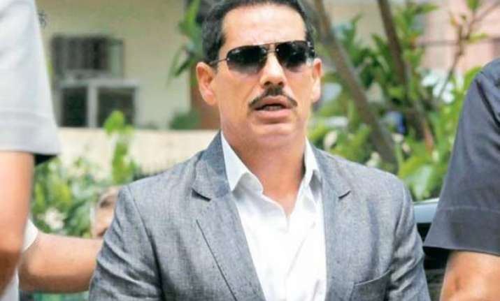 nda playing diversionary political tactics robert vadra
