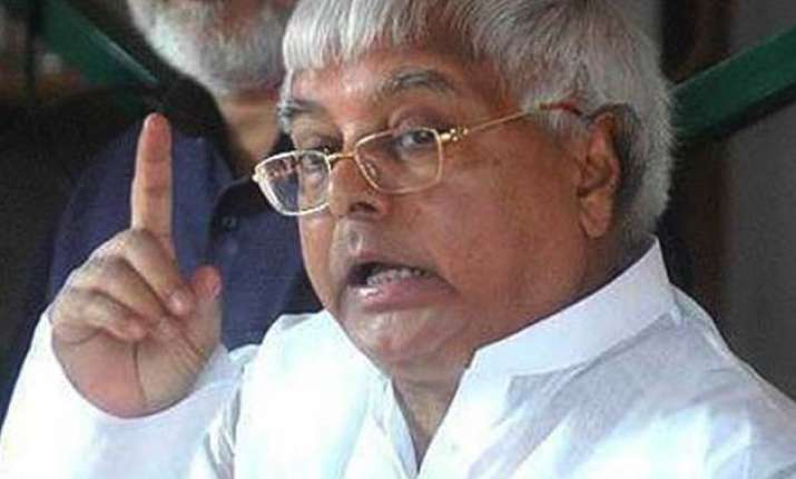bihar polls lalu to declare seats for samajawadi party