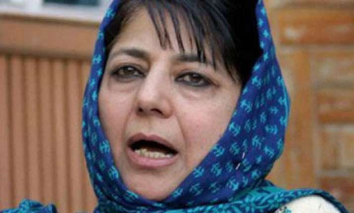 pdp writes to governor mehbooba mufti set to be first woman