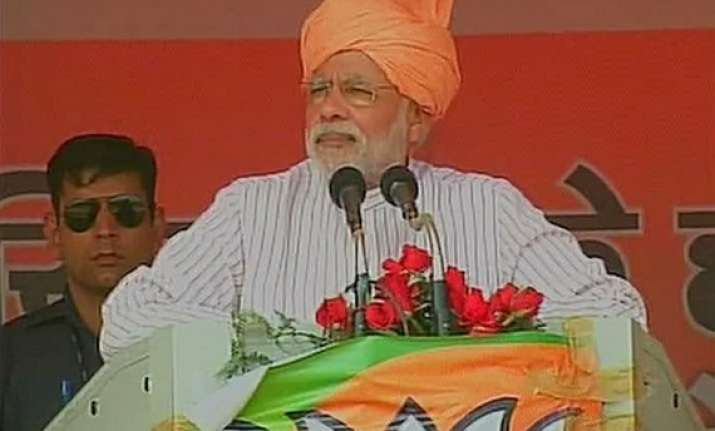 i want to bring in saffron revolution says narendra modi