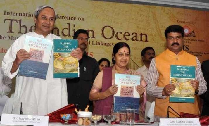 india committed to maritime security sushama swaraj