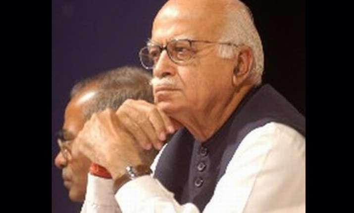 advani didn t give speech prior to babri demolition bjp