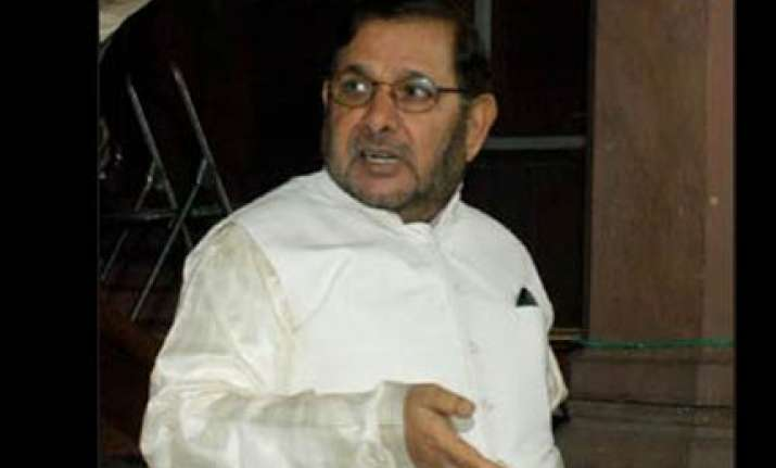 ayodhya not an issue in bihar polls says sharad yadav