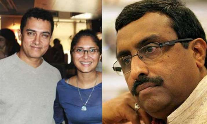 preach your wife about country s prestige ram madhav s dig