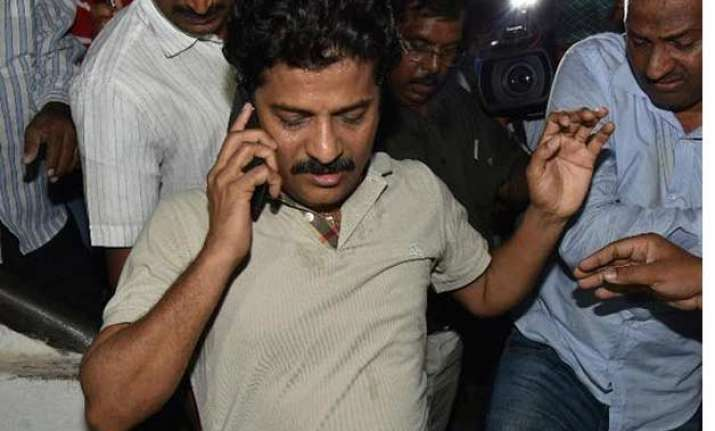 tdp mla trapped for offering rs 50 lakh bribe to legislator
