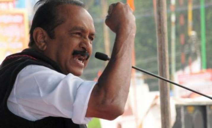 vaiko demands rollback of milk price hike