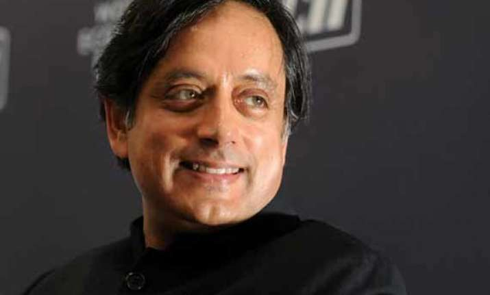 shashi tharoor thanks digvijay singh for his confidence in