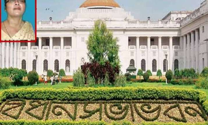 bengal deputy speaker calls herself the chief minister