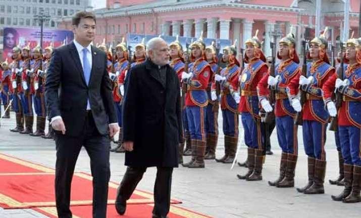 pm modi s mongolia visit more about leverage over china