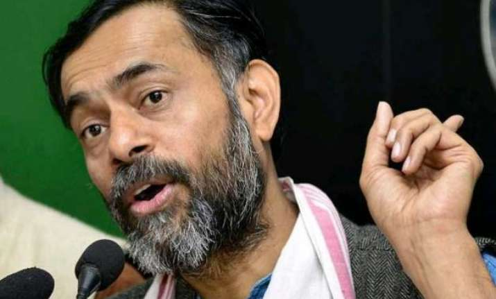 won t quit crisis within an opportunity for aap yogendra