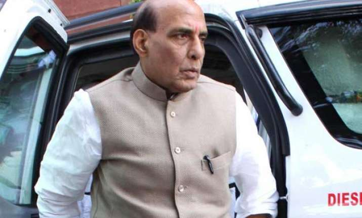 rajnath singh admitted to gurgaon hospital