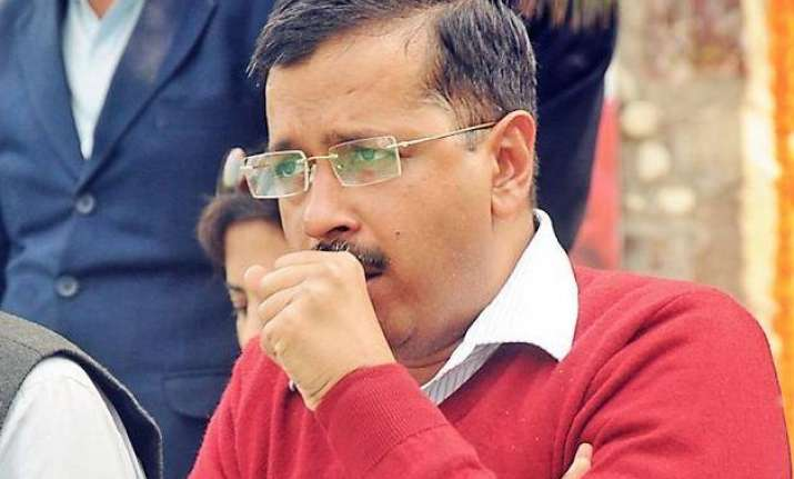 kejriwal s chronic cough delhi cm heads to bengaluru for