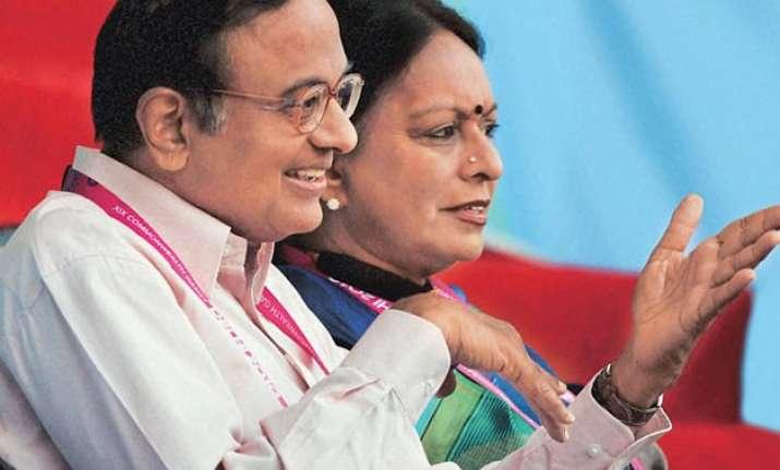 no summons to chidambaram s wife in saradha scam clarifies