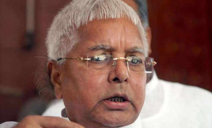 bihar polls lalu prasad terms pm modi as political ravana